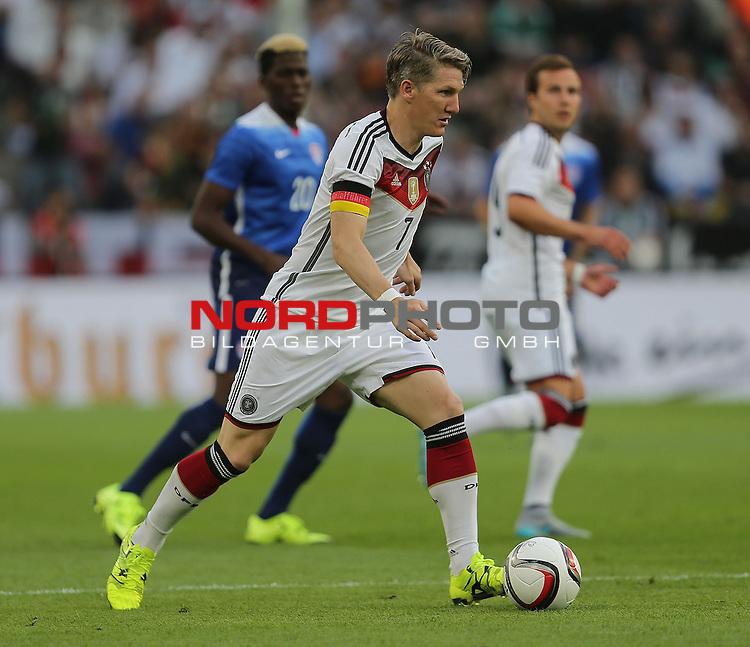 DFB Freundschaftsl&auml;nderspiel, Deutschland vs. USA<br /> Bastian Schweinsteiger (Deutschland)<br /> <br /> Foto &copy; nordphoto /  Bratic