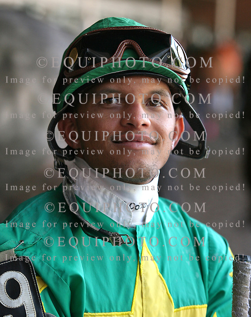 Jockey Pedro Cotto, Jr..Photo By EQUI-PHOTO