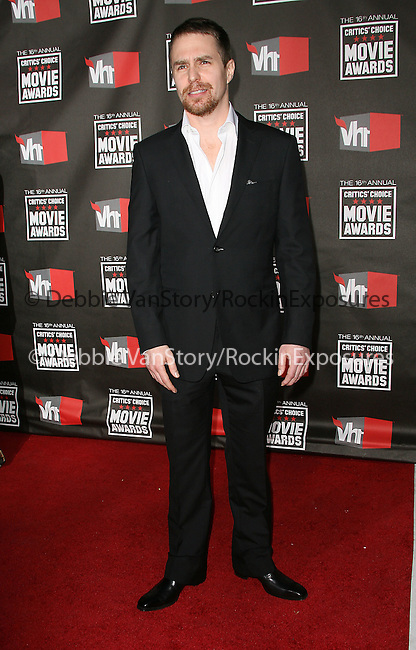 Sam Rockwell at The16th Annual Critics' Choice Movie Awards held at The Hollywood Palladium in Hollywood, California on January 14,2011                                                                               © 2010 Hollywood Press Agency