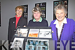Cahersiveen Active Retired with some of the photographs from their Exhibition Past & Present which will run in The Community Centre Cahersiveen until mid January, pictured l-r; Bettie Kelly, Ann Casey & Mary Daly.