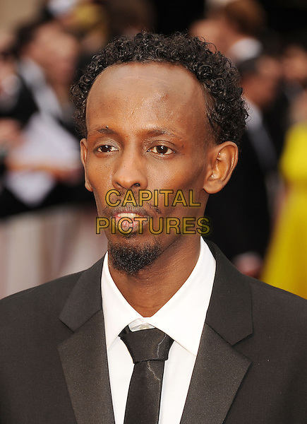HOLLYWOOD, CA- MARCH 02: Actor Barkhad Abdi attends the 86th Annual Academy Awards held at Hollywood &amp; Highland Center on March 2, 2014 in Hollywood, California.<br /> CAP/ROT/TM<br /> &copy;Tony Michaels/Roth Stock/Capital Pictures