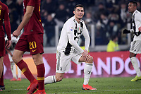 Cristiano Ronaldo of Juventus reacts during the Serie A 2018/2019 football match between Juventus and AS Roma at Allianz Stadium, Roma, December 22, 2018 <br /> Foto OneNine / Insidefoto