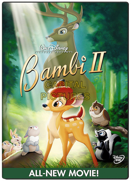 DVD COVER ART.in Bambi II (2).*Editorial Use Only*.www.capitalpictures.com.sales@capitalpictures.com.Supplied by Capital Pictures.