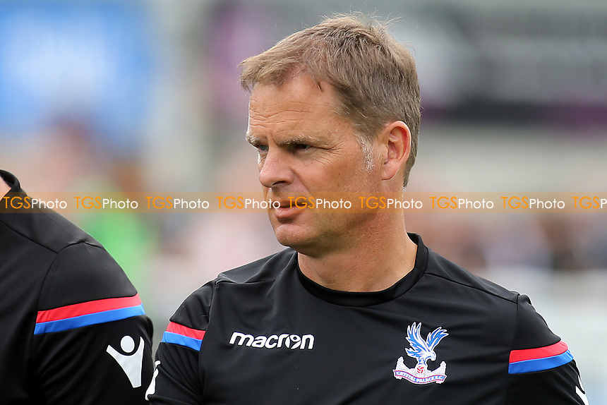 Crystal Palace Manager, Frank De Boer during Maidstone United  vs Crystal Palace, Friendly Match Football at the Gallagher Stadium on 15th July 2017