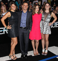 "WESTWOOD, LOS ANGELES, CA, USA - MARCH 18: Tony Goldwyn, Liz Goldwyn at the World Premiere Of Summit Entertainment's ""Divergent"" held at the Regency Bruin Theatre on March 18, 2014 in Westwood, Los Angeles, California, United States. (Photo by Xavier Collin/Celebrity Monitor)"