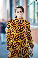 Delfina Delettrez-Fendi at Milan Fashion Week (Photo by Hunter Abrams/Guest of a Guest)