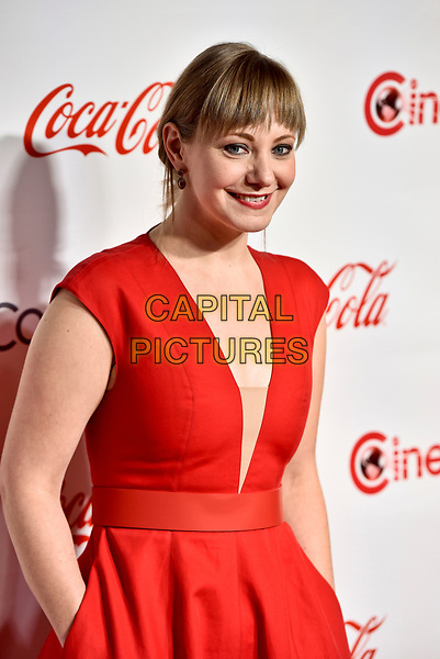 LAS VEGAS, NV - MARCH 30:  Emily Gordon at the CinemaCon Big Screen Achievement Awards  at The Colosseum at Caesars Palace during CinemaCon 2017on March 30, 2017 in Las Vegas, Nevada. <br /> CAP/MPI/KLH<br /> &copy;KLH/MPI/Capital Pictures