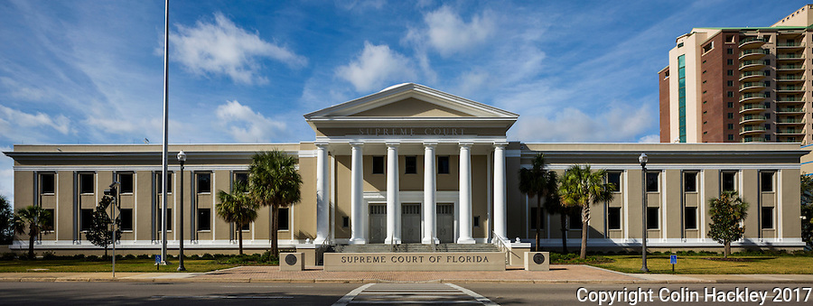 TALLAHASSEE, FLA. 1/4/17-The Florida Supreme Court building in Tallahassee.<br />