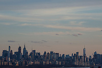 FORT LEE, NJ - APRIL 2: New York Skyline it's seen across the Hudson river between from New Jersey on April 2, 2017 in Fort Lee, New Jersey. Photo by VIEWpress/ Kena Betancur