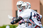 Los Angeles, CA 03/20/10 - Graham Seamans (Arizona # 19) in action during the Arizona-Loyola Marymount University MCLA game at Leavey Field (LMU).  LMU defeated Arizona 13-6.