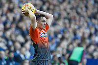 Connor Roberts of Swansea City takes a throw in during the Sky Bet Championship match between Sheffield Wednesday and Swansea City at Hillsborough Stadium, Sheffield, England, UK. Saturday 23 February 2019