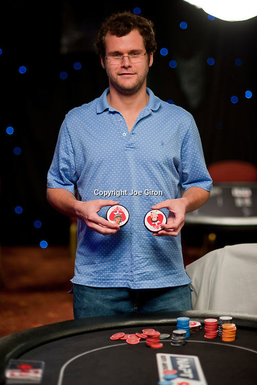 Clint Coffee wins his table