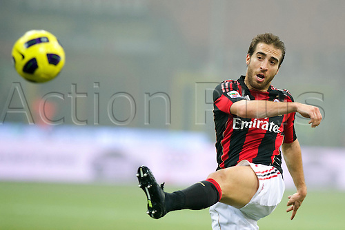 01.02.2011 Mathieu Flamini (Milan),  Football : Italian Serie A 2010-2011, match between  A.C. Milan (0-0) S.S. Lazio at San Siro Meazza Stadium, Milan, Italy,