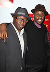 Steve Harris and Wood Harris .attending the Broadway Opening Night After Party for 'A Streetcar Named Desire' on 4/22/2012 at the Copacabana in New York City.