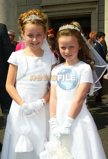 Lourdes Communion – Leah Brodign and Sadhbh Clinton.