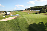 ISPS Handa Wales Open<br /> General view of the 18th green on the Twenty Ten golf course.<br /> Celtic Manor Resort<br /> 21.09.14<br /> ©Steve Pope-SPORTINGWALES