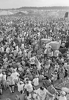 Grateful Dead Audience View at Highgate VT Franklin County Airport 13 July 1994
