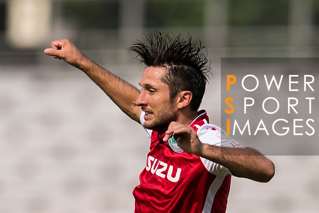 Shay Phillip Spitz of Kwoon Chung Southern in action during the week three Premier League match between Kwoon Chung Southern and R&F at Aberdeen Sports Ground on September 16, 2017 in Hong Kong, China. Photo by Marcio Rodrigo Machado / Power Sport Images