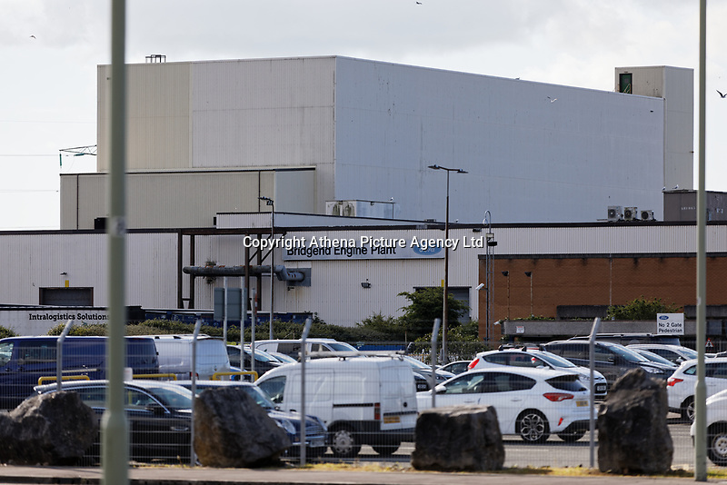 Pictured: General view of the Ford engine plant in Bridgend, Wales, UK. Thursday 06 June 2019<br /> Re: An announcement on the proposed closure of Ford's Bridgend plant will be made today (Thursday).<br /> Ford Europe and bosses from the United States will meet union leaders at its Essex headquarters.<br /> The plant employs 1,700 workers from across south Wales.