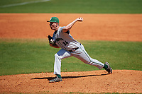 Dartmouth Big Green relief pitcher Jack Schmidt (34) during a game against the Bradley Braves on March 21, 2019 at Chain of Lakes Stadium in Winter Haven, Florida.  Bradley defeated Dartmouth 6-3.  (Mike Janes/Four Seam Images)