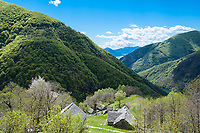 Odro, Val Verzasca, Ticino, Switzerland, May 2013.