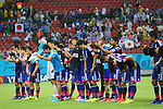 Japan team group (JPN), <br /> JUNE 14, 2014 - Football /Soccer : <br /> 2014 FIFA World Cup Brazil <br /> Group Match -Group C- <br /> between Cote d'Ivoire 2-1 Japan <br /> at Arena Pernambuco, Recife, Brazil. <br /> (Photo by YUTAKA/AFLO SPORT) [1040]