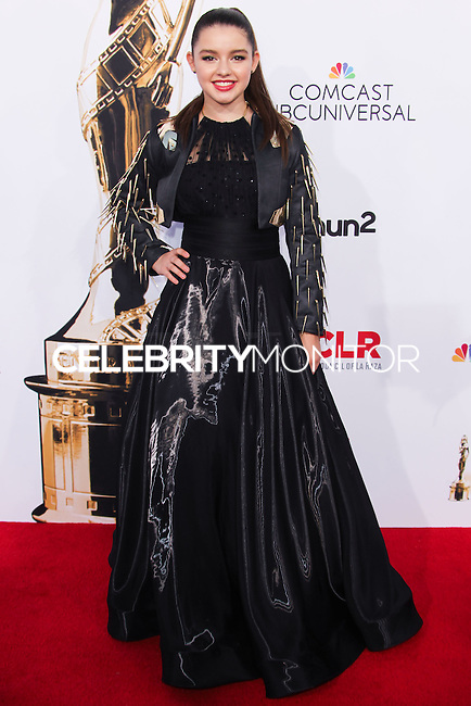 PASADENA, CA, USA - OCTOBER 10: Fatima Ptacek arrives at the 2014 NCLR ALMA Awards held at the Pasadena Civic Auditorium on October 10, 2014 in Pasadena, California, United States. (Photo by Celebrity Monitor)