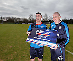 Michael O'Halloran and Mark Warburton promote the Rangers Player of the Year Awards dinner