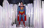Hollywood Wax Museum display of Christopher Reeve as Superman in Buena Park, CA circa 1980.