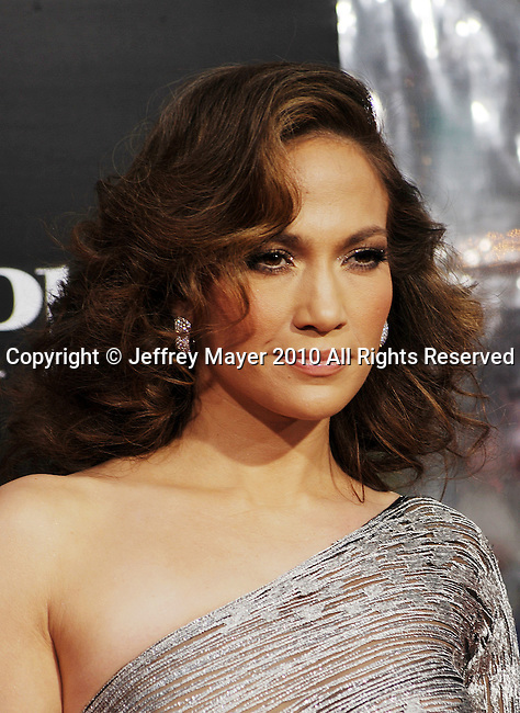 """WESTWOOD, CA. - April 21: Jennifer Lopez attends the """"The Back-Up Plan"""" Los Angeles Premiere at Regency Village Theatre on April 21, 2010 in Westwood, California."""