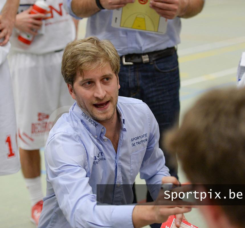 Bent Waregem : coach Olivier Foucart <br /> Foto VDB / Bart Vandenbroucke