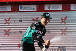 Emanuel Buchmann (GER) Bora-Hansgrohe wins by a minute and takes over the race lead at the end of Stage 5 of the Tour of the Basque Country 2019 running 149.8km from Arrigorriaga to Arrate, Spain. 12th April 2019.<br /> Picture: Colin Flockton | Cyclefile<br /> <br /> <br /> All photos usage must carry mandatory copyright credit (&copy; Cyclefile | Colin Flockton)