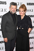 "LONDON, UK. October 31, 2018: Andy Serkis & Lorraine Ashbourne at the ""Widows"" special screening in association with Vogue at the Tate Modern, London.<br /> Picture: Steve Vas/Featureflash"