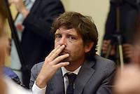 Roma, 15 Luglio 2015<br /> Pippo Civati.<br /> Presentata una proposta di legge firmata da 218 parlamentari di vari gruppi politici per la legalizzazione delle droghe leggere in Italia