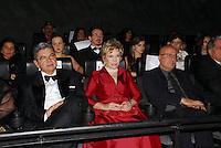 ATEN&Ccedil;&Atilde;O EDITOR:  FOTO EMBARGADA PARA VEICULOS INTERNACIONAIS - RIO DE JANEIRO, RJ 27 DE SETEMBRO 2012 - A ministra da cultura Marta Suplicy (C) durante a bertura do Festival Rio Filmes 2012, no Cine Odeon situado na Cinel&acirc;ndia centro da cidade do Rio de Janeiro na noite de ontem quinta feira (27)<br /> RONALDO BRANDAO / BRAZIL PHOTO PRESS