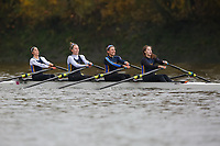Crew: 95  NRC (B)  Nottingham RC (A Hicken) Event: W 4x- B1<br /> <br /> Fours Head 2019