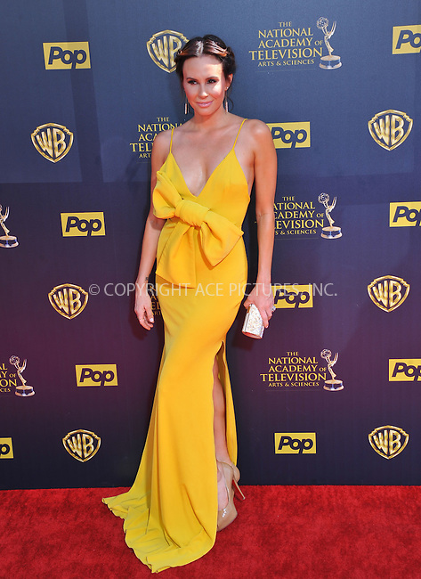WWW.ACEPIXS.COM<br /> <br /> April 26 2015, LA<br /> <br /> Keltie Knight arriving at The 42nd Annual Daytime Emmy Awards at Warner Bros. Studios on April 26, 2015 in Burbank, California.<br /> <br /> By Line: Peter West/ACE Pictures<br /> <br /> <br /> ACE Pictures, Inc.<br /> tel: 646 769 0430<br /> Email: info@acepixs.com<br /> www.acepixs.com