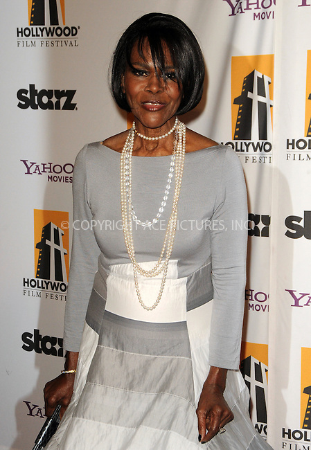 WWW.ACEPIXS.COM . . . . .  ....October 24 2011, LA....Cicely Tyson arriving at the 15th Annual Hollywood Film Awards Gala at The Beverly Hilton Hotel on October 24, 2011 in Beverly Hills, California.....Please byline: PETER WEST - ACE PICTURES.... *** ***..Ace Pictures, Inc:  ..Philip Vaughan (212) 243-8787 or (646) 679 0430..e-mail: info@acepixs.com..web: http://www.acepixs.com
