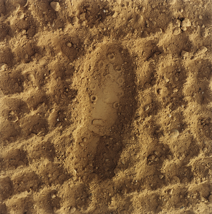 Boot Print in Dirt