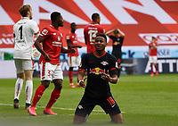 24th May 2020, Opel Arena, Mainz, Rhineland-Palatinate, Germany; Bundesliga football; Mainz 05 versus RB Leipzig; Christopher Nkunku (RB Leipzig) , dissapointed to miss a good chance