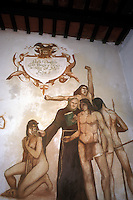 Painting of De Todas las Indias..Santo Domingo, Dominican Republic