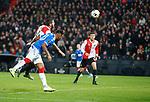 28.11.2019: Feyenoord v Rangers: Alfredo Morelos scores for Rangers