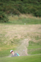 Allan Hill of Ireland during Day 2 / Foursomes of the Boys' Home Internationals played at Royal Dornoch Golf Club, Dornoch, Sutherland, Scotland. 08/08/2018<br /> Picture: Golffile | Phil Inglis<br /> <br /> All photo usage must carry mandatory copyright credit (&copy; Golffile | Phil Inglis)
