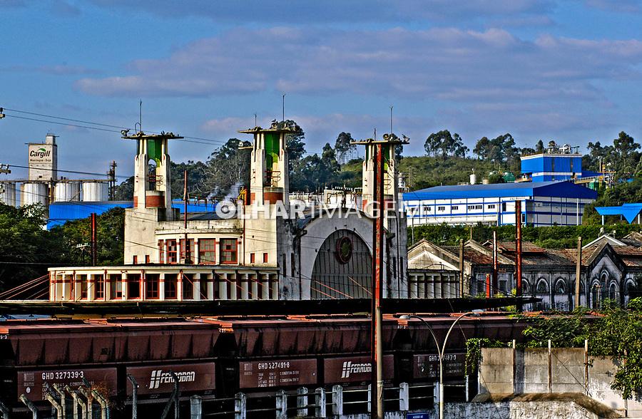 Estação ferroviária de Mairinque. São Paulo. 2005. Foto de Juca Martins.