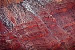 Redwall Limestone of the Grand Canyon from Hopi Point, Grand Canyon National Park, AZ, USA