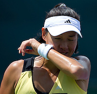 Kimiko DATE KRUMM (JPN) against Nadia PETROVA (RUS) in the second round of the women's singles. Petrova beat Date Krumm 6-3 7-6..International Tennis - 2010 ATP World Tour - Sony Ericsson Open - Crandon Park Tennis Center - Key Biscayne - Miami - Florida - USA - Thurs  25 Mar 2010..© Frey - Amn Images, Level 1, Barry House, 20-22 Worple Road, London, SW19 4DH, UK .Tel - +44 20 8947 0100.Fax -+44 20 8947 0117