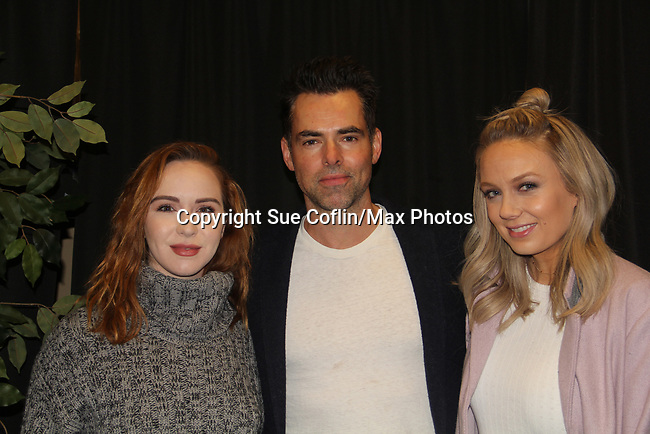 The Young and The Restless actors Camryn Grimes, Jason Thompson & Melissa Ordway came together on February 16, 2019 for a fan q & a, meet and great with autographs and photo taking hosted by Soap Opera Festival's Joyce Becker at the Hollywood Casino in Columbus, Ohio. (Photos by Sue Coflin/Max Photos)