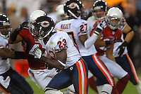 Oct. 16, 2006; Glendale, AZ, USA; Chicago Bears running back (23) Devin Hester against the Arizona Cardinals at University of Phoenix Stadium in Glendale, AZ. Mandatory Credit: Mark J. Rebilas