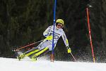 10.03.2018, Ofterschwanger Horn, Ofterschwang, GER, Slalom Weltcup in Ofterschwang, im Bild Mireia Gutierrez (AND, #43)<br /> <br /> Foto &copy; nordphoto / Hafner