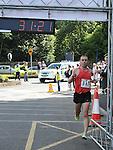 Gary O'Hanlon wins the Ardee 10k run at the Turfman festival. Photo: Colin Bell/pressphotos.ie